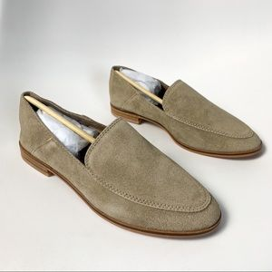 Dolce Vita Pixy Almond Suede loafers